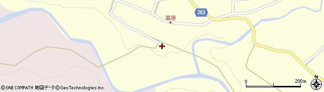 山形県上山市大門64周辺の地図