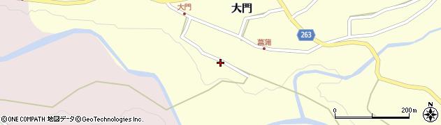 山形県上山市大門31周辺の地図