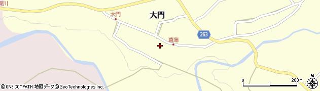 山形県上山市大門28周辺の地図