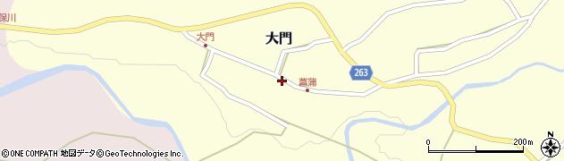 山形県上山市大門27周辺の地図