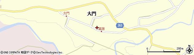 山形県上山市大門25周辺の地図