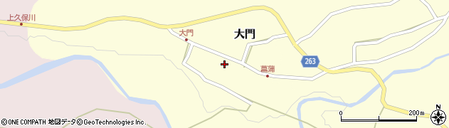 山形県上山市大門36周辺の地図
