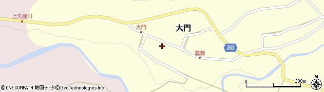 山形県上山市大門37周辺の地図