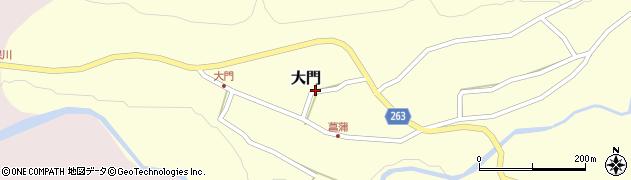 山形県上山市大門22周辺の地図