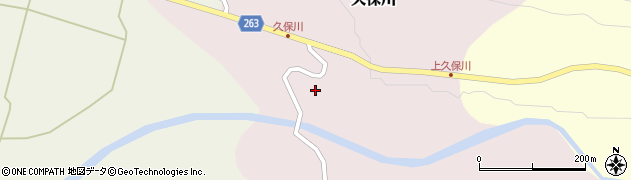 山形県上山市久保川87周辺の地図