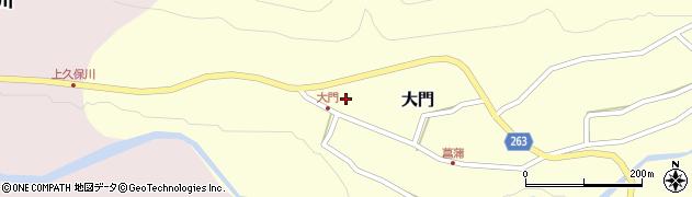 山形県上山市大門10周辺の地図