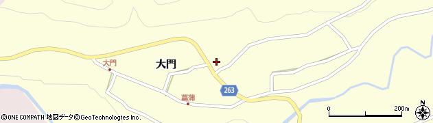 山形県上山市菖蒲8周辺の地図