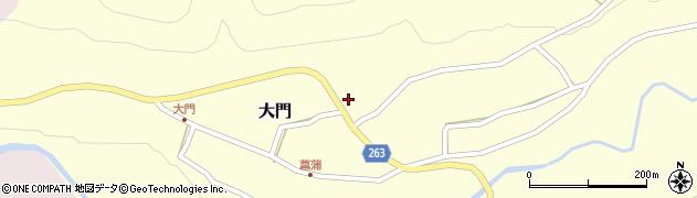 山形県上山市菖蒲7周辺の地図