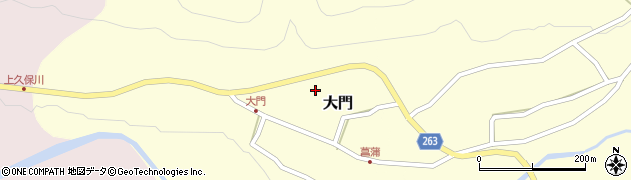 山形県上山市大門15周辺の地図