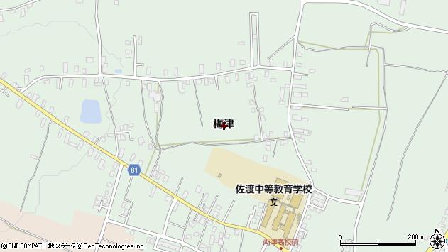 〒952-0005 新潟県佐渡市梅津の地図