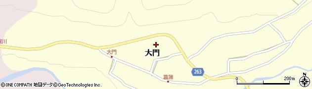 山形県上山市大門17周辺の地図