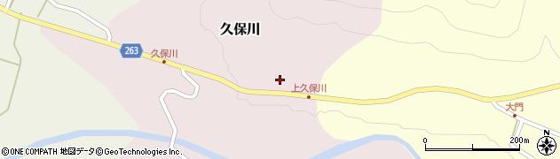 山形県上山市久保川48周辺の地図