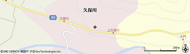 山形県上山市久保川41周辺の地図
