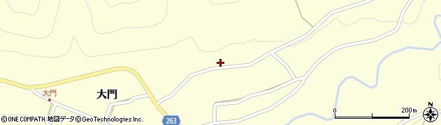 山形県上山市菖蒲190周辺の地図