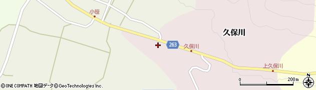 山形県上山市久保川146周辺の地図
