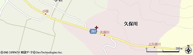 山形県上山市久保川2周辺の地図