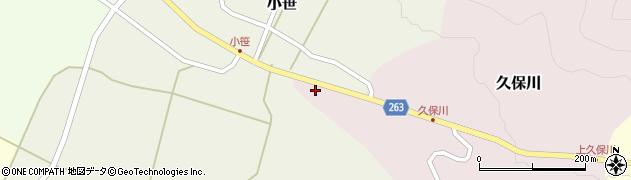 山形県上山市久保川141周辺の地図