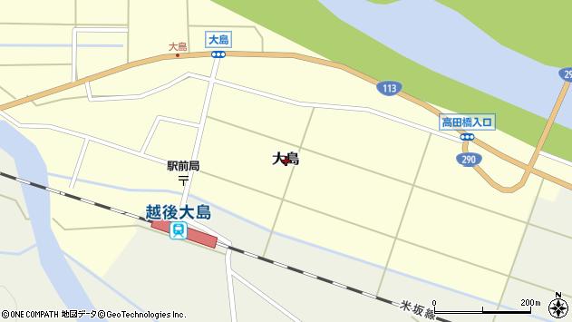 〒959-3241 新潟県岩船郡関川村大島の地図