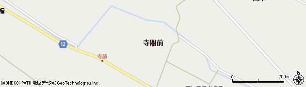 宮城県蔵王町(刈田郡)円田(寺門前)周辺の地図