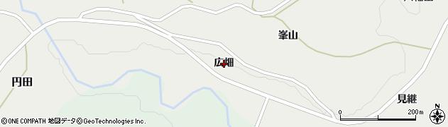 宮城県蔵王町(刈田郡)円田(広畑)周辺の地図