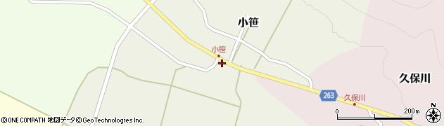 山形県上山市小笹15周辺の地図