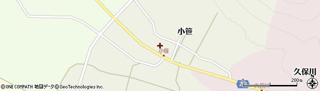 山形県上山市小笹207-2周辺の地図