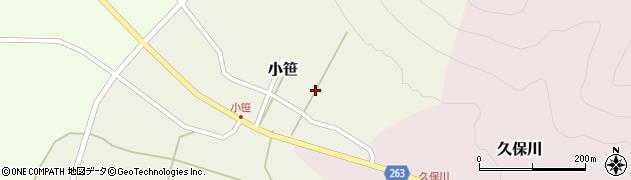 山形県上山市小笹37周辺の地図
