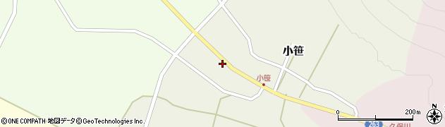 山形県上山市小笹174周辺の地図