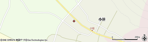 山形県上山市小笹230周辺の地図