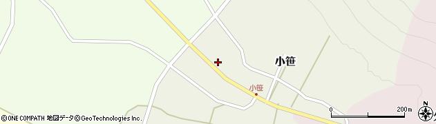 山形県上山市小笹219周辺の地図