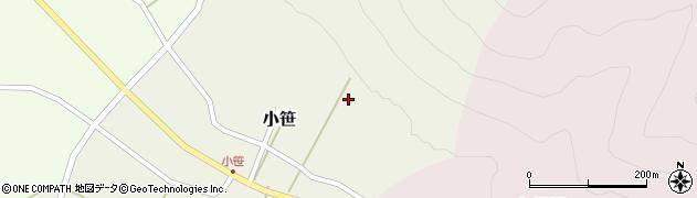 山形県上山市小笹119周辺の地図