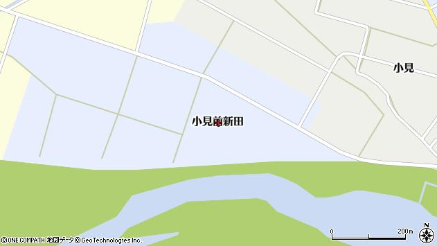 〒959-3254 新潟県岩船郡関川村小見前新田の地図
