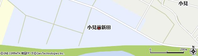 新潟県関川村(岩船郡)小見前新田周辺の地図