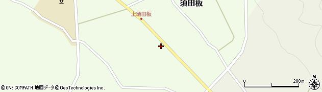 山形県上山市須田板703周辺の地図