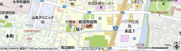 宮城県岩沼市周辺の地図