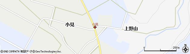 小見周辺の地図