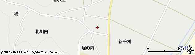 宮城県蔵王町(刈田郡)円田(白山前)周辺の地図