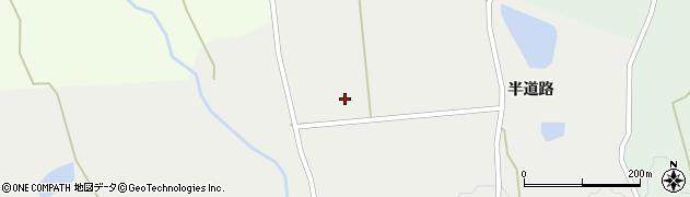 山形県上山市三上半道路1289周辺の地図