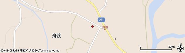 山形県西置賜郡小国町舟渡窪周辺の地図