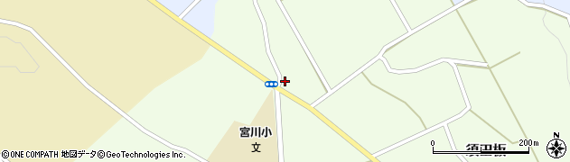 山形県上山市須田板790周辺の地図