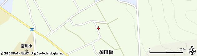 山形県上山市須田板12周辺の地図