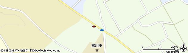 山形県上山市須田板原際739-4周辺の地図