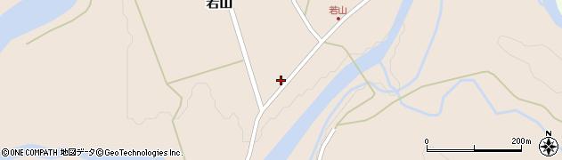 山形県西置賜郡小国町若山493周辺の地図