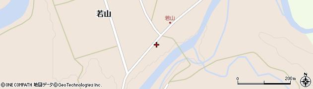 山形県西置賜郡小国町若山324周辺の地図