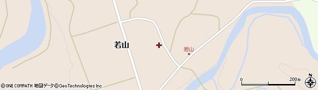 山形県西置賜郡小国町若山334周辺の地図