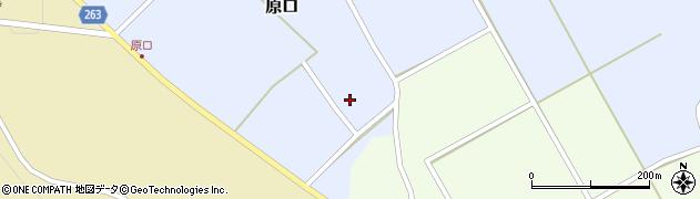 山形県上山市原口481周辺の地図