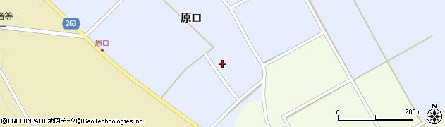 山形県上山市原口477周辺の地図