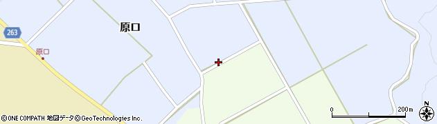 山形県上山市原口536周辺の地図