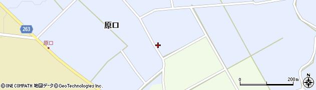 山形県上山市原口527周辺の地図