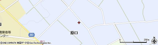 山形県上山市原口447周辺の地図